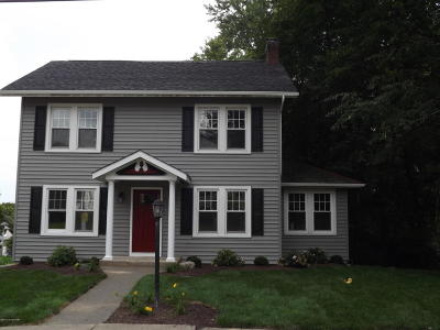 Stroudsburg Single Family Home For Sale: 516 Queen St