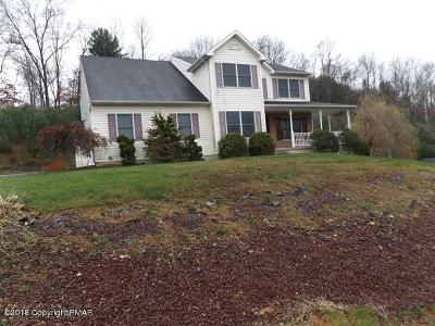 Stroudsburg Single Family Home For Sale: 1118 Heritage Blvd