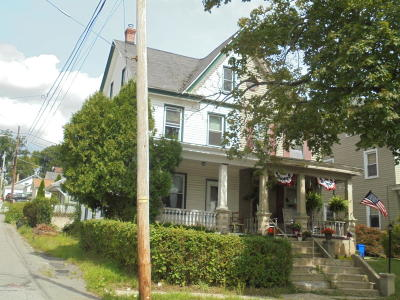Jim Thorpe Single Family Home For Sale: 16 W 7th St