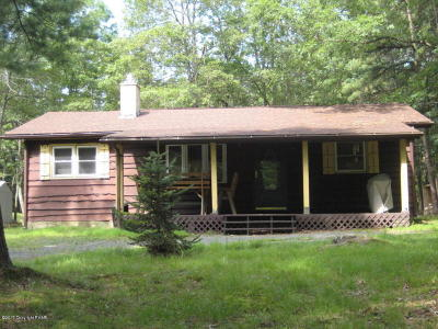 Albrightsville Single Family Home For Sale: Twin Lake Road 93