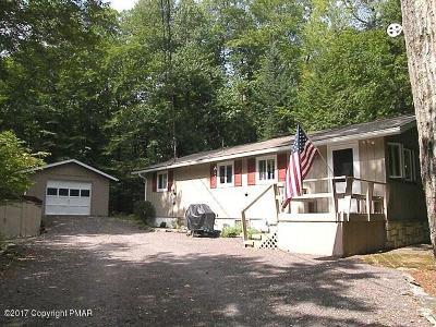 Pocono Lake Single Family Home For Sale: 329 Ridge Road