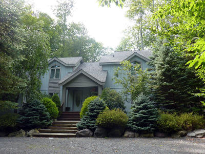 Pocono Pines Single Family Home For Sale: 6259 Lakeview Dr