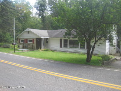 Saylorsburg Single Family Home For Sale: 4130 Upper Smith Gap Rd