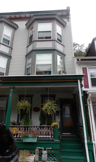 Jim Thorpe Single Family Home For Sale: 78 W Broadway