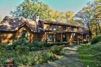 Stroudsburg Single Family Home For Sale: 163 Quiet Valley Road