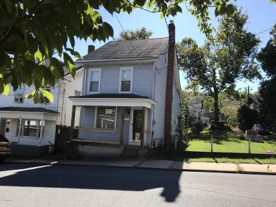 Jim Thorpe Single Family Home For Sale: 107 Center Ave