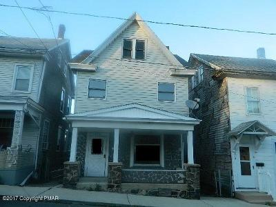 Jim Thorpe Single Family Home For Sale: 320 Center Ave