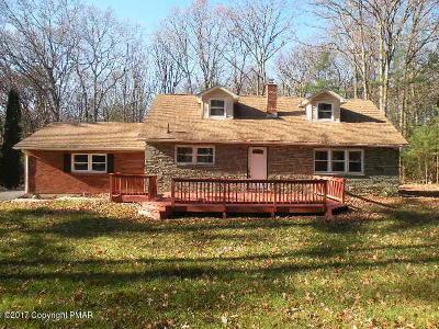 Kunkletown Single Family Home For Sale: 281 Turkey Ridge Dr