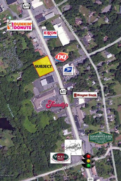 Monroe County Commercial For Sale: 2926 Route 611