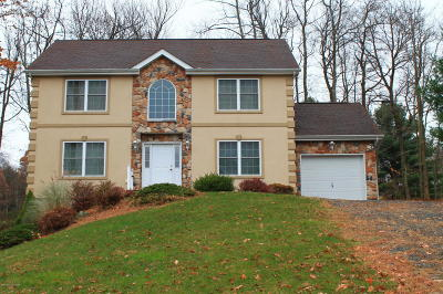 Lake Harmony Single Family Home For Sale: 104 Wolf Hollow Rd