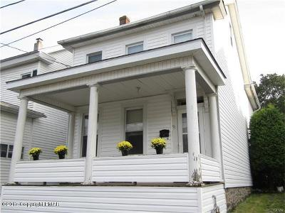 Jim Thorpe Single Family Home For Sale: 91 North Ave