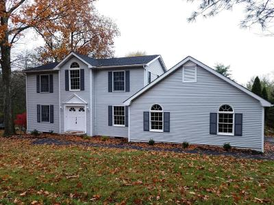 Stroudsburg Single Family Home For Sale: 1580 Reish Rd
