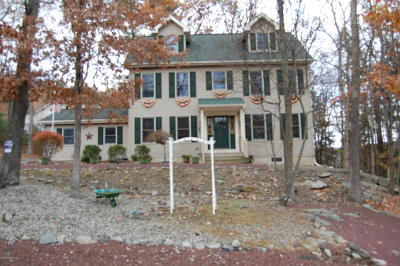 East Stroudsburg Single Family Home For Sale: 3204 Blue Mountain Lake Dr