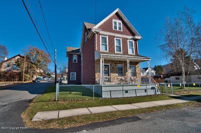 Jim Thorpe Single Family Home For Sale: 17 E 2nd St