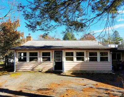 Saylorsburg Single Family Home For Sale: 262 Lake Rd
