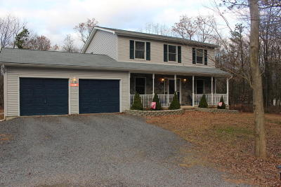 Albrightsville Single Family Home For Sale: 138 Old Stage Rd