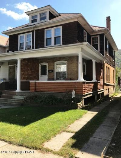 Palmerton Single Family Home For Sale: 538 Franklin Ave