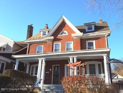 Palmerton Single Family Home For Sale: 313 Lafayette Ave