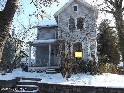 East Stroudsburg Single Family Home For Sale: 440 Chestnut St