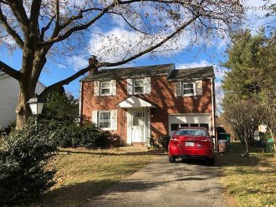 Bethlehem Single Family Home For Sale: 2110 Fairland Ave