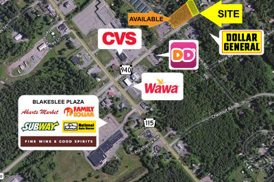 Blakeslee Commercial For Sale: Route 940