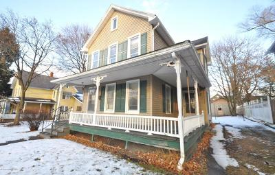 East Stroudsburg Single Family Home For Sale: 196 Lackawanna Ave