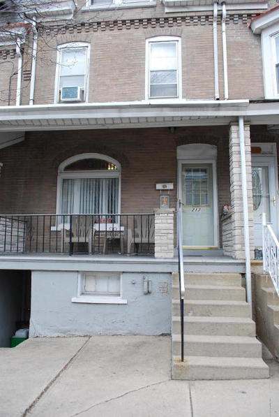 Allentown PA Single Family Home For Sale: $70,000