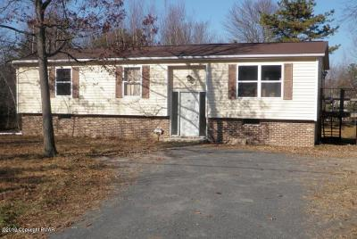 Albrightsville Single Family Home For Sale: 146 Oldstage Road