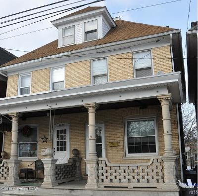 Single Family Home Sold: 1235 Spring Garden St