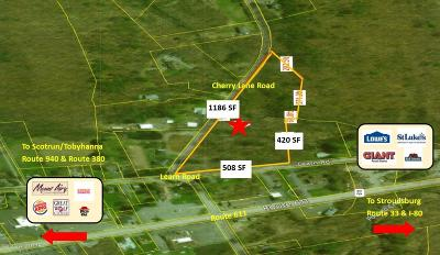 Tannersville Residential Lots & Land For Sale: T 625 (Cherry Land Rd)