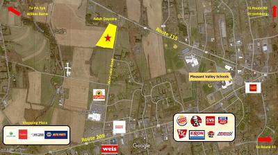 Brodheadsville Commercial For Sale: Weir Lake Rd #2