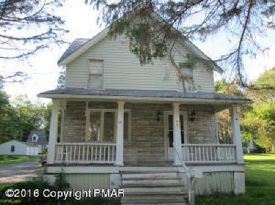 Mount Pocono Single Family Home For Sale: 98 Fairview Avenue
