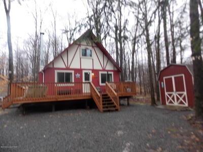 Pocono Lake Single Family Home For Sale: 5363 Conoquenissing Dr