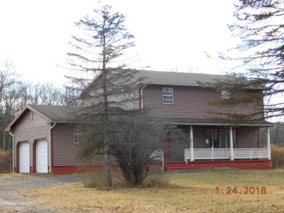 Stroudsburg Single Family Home For Sale: 1321 Beaver Valley Rd