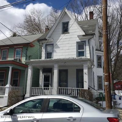 Jim Thorpe Single Family Home For Sale: 225 South St