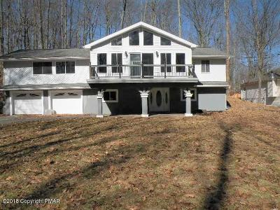 Pocono Lake Single Family Home For Sale: 253 Elk Run Road
