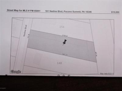 Pocono Summit Residential Lots & Land For Sale: 161 Nadine Blvd