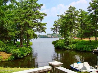 Long Pond Single Family Home For Sale: 420 Mountain Top Lake Rd