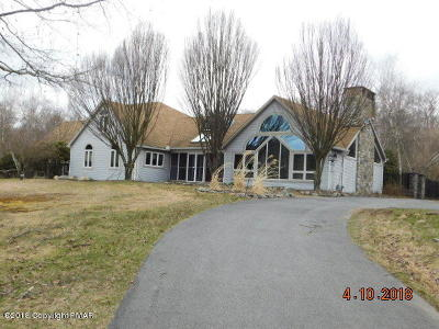 East Stroudsburg Single Family Home For Sale: 131 Kings Pond Rd