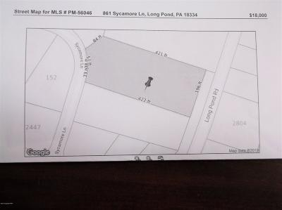 Long Pond Residential Lots & Land For Sale: 861 Sycamore Ln