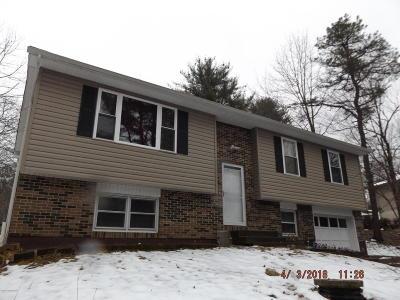 East Stroudsburg Single Family Home For Sale: 5016 Yukon Drive