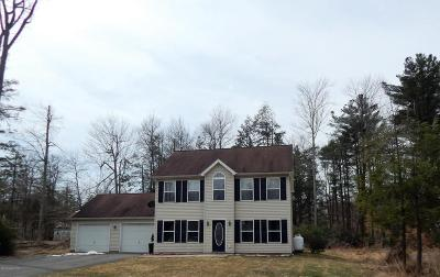 Blakeslee Single Family Home For Sale: 117 Cranberry Dr