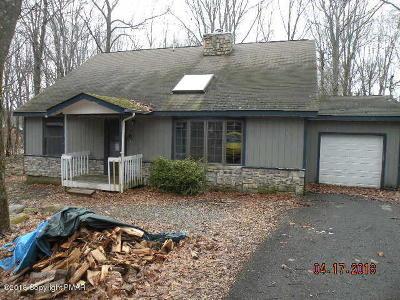 Pocono Summit Single Family Home For Sale: 2254 Beaver Cir