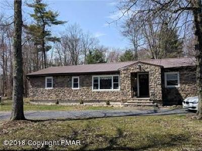 Bangor Single Family Home For Sale: 1198 Lake Minsi Dr