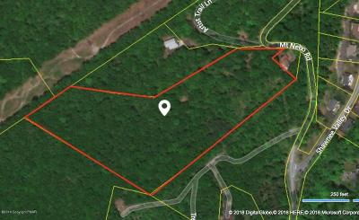 East Stroudsburg Residential Lots & Land For Sale: Mt Nebo Dr