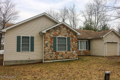 Pocono Summit Single Family Home For Sale: 5265 Holiday Dr
