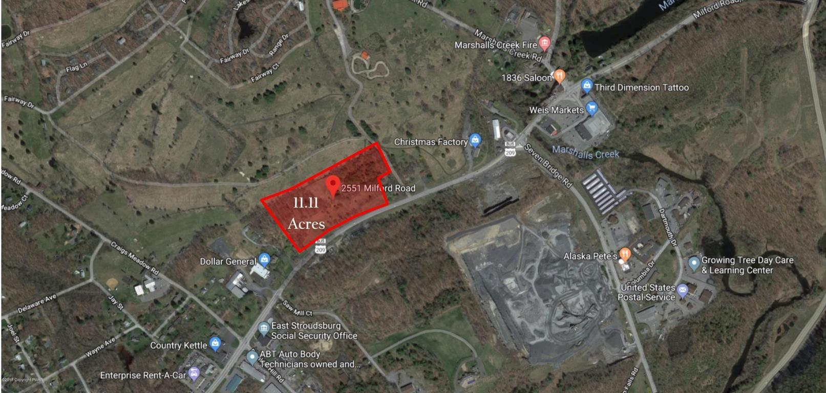 11.11 acres Commercial Property in East Stroudsburg for $1,400,000 on route 11 pa map, route 33 pa map, route 220 pa map, route 611 pa map, route 100 pa map, route 83 pa map, route 309 pa map, route 29 pa map, route 82 pa map, route 51 pa map, route 15 pa map, route 23 pa map,