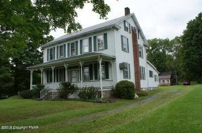 Stroudsburg Farm For Sale: 443 Bossardsville Rd