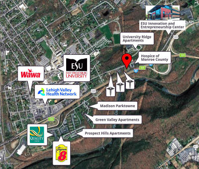 East Stroudsburg Commercial For Sale: 383 East Brown Street