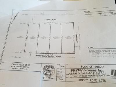 Mount Pocono Residential Lots & Land For Sale: Kinney Ave